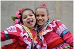 Girls Celebrate the Hipanic Culture