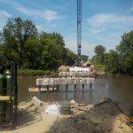 Bridge deck removed