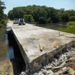 Removal of Bridge Deck Continues