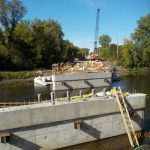 McNeal Road Bridge deck forming 10/02/20