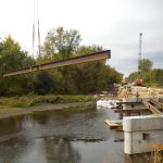 McNeal Road Bridge deck forming 10/03/20