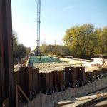 McNeal Road Bridge rebar installation for deck 10/21/20