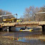 McNeal Road Bridge pouring the deck 11/03/20