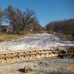 McNeal Road Bridge deck curing 11/04/20