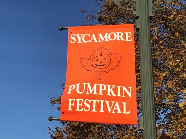 Sycamore Pumpkin Festival Flag